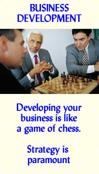 Developing your business is like a game of chess - strategy is paramount